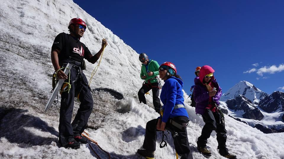 De instructor en Mujer Montaña