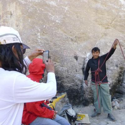 Rock-climbing Monitor